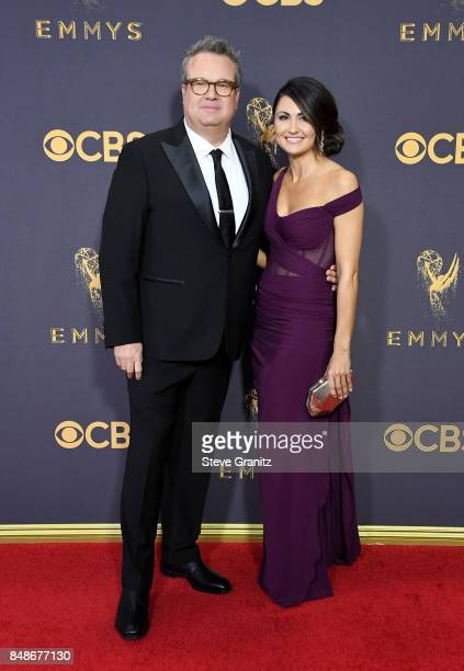 Actor Eric Stonestreet and guest attend the 69th Annual Primetime Emmy Awards at Microsoft Theater on September 17 2017 in Los Angeles California