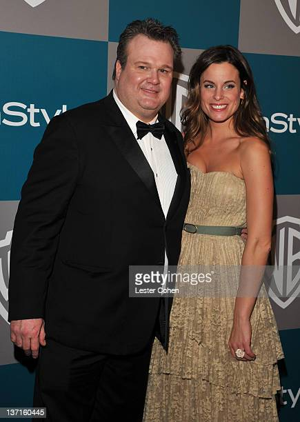 Actor Eric Stonestreet and wife Katherine Tokarz arrive at the 13th Annual Warner Bros and InStyle Golden Globe After Party held at The Beverly...