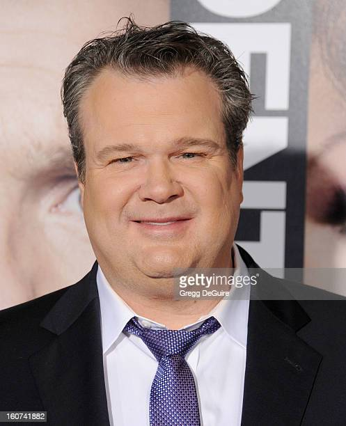 """Actor Eric Stonestreet arrives at the """"Identity Thief"""" Los Angeles premiere at Mann Village Theatre on February 4, 2013 in Westwood, California."""
