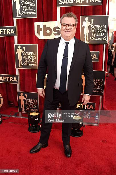 Actor Eric Stonestreet attends The 23rd Annual Screen Actors Guild Awards at The Shrine Auditorium on January 29 2017 in Los Angeles California...