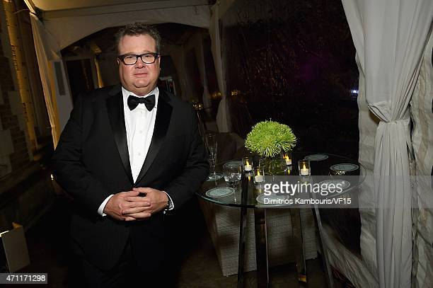 Actor Eric Stonestreet attends the Bloomberg Vanity Fair cocktail reception following the 2015 WHCA Dinner at the residence of the French Ambassador...