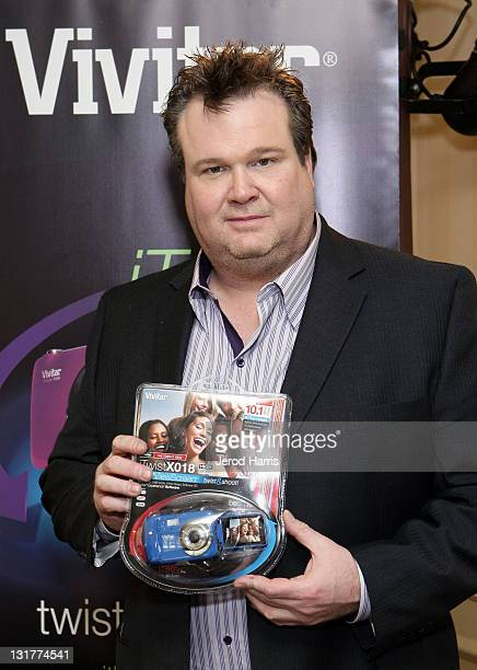 Actor Eric Stonestreet attends the HBO Luxury Lounge in honor of the 68th Annual Golden Globe Awards at The Four Seasons Hotel on January 15 2011 in...