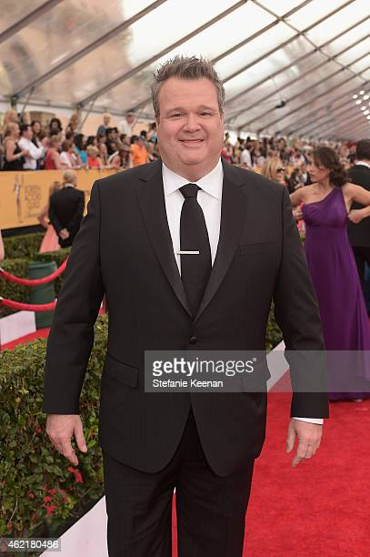 Actor Eric Stonestreet attends TNT's 21st Annual Screen Actors Guild Awards at The Shrine Auditorium on January 25 2015 in Los Angeles California...