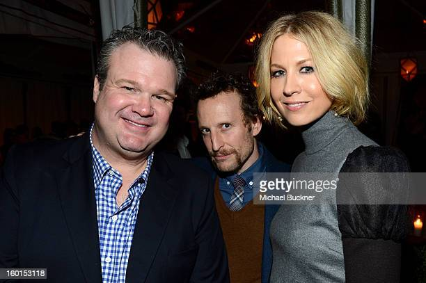 Actor Eric Stonestreet Bodhi Elfman and Jenna Elfman attend the Entertainment Weekly PreSAG Party hosted by Essie and Audi held at Chateau Marmont on...