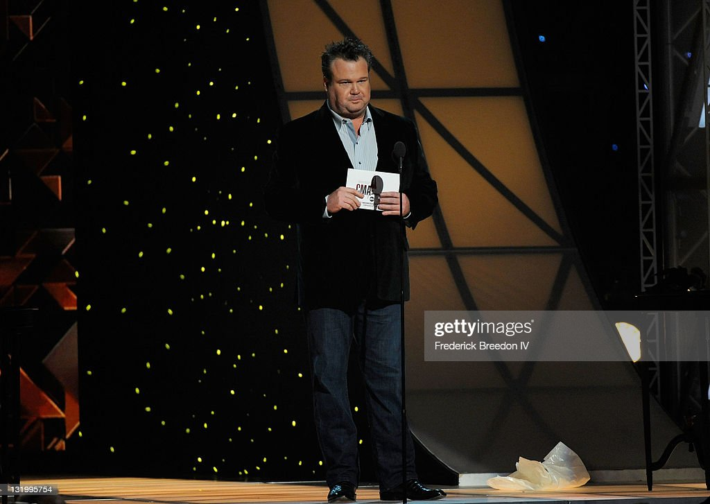 Actor Eric Stonestreet during the 45th annual CMA Awards at the Bridgestone Arena on November 9, 2011 in Nashville, Tennessee.