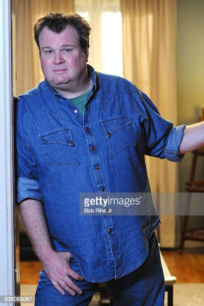 Actor Eric Stonestreet on the set of ABC's Modern Family February 19 2010 in Los Angeles California