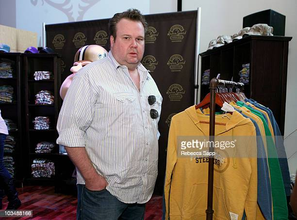 Actor Eric Stonestreet poses at the Kari Feinstein Golden Globes Style Lounge at Zune LA on January 15 2010 in Los Angeles California