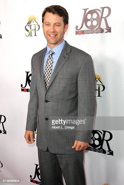 Actor Eric Sweeney arrives for the Premiere Of JR Productions' Halloweed held at TCL Chinese 6 Theatres on March 15 2016 in Hollywood California