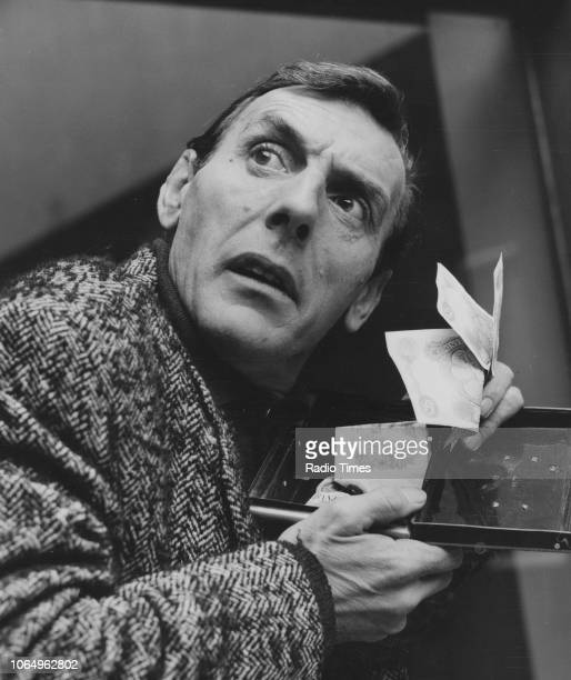 Actor Eric Sykes in a scene from the television sitcom episode 'Sykes and a Nest Egg' November 2nd 1965