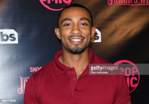 Actor Eric Tidwell attends the premiere for TBS's Drop The Mic and The Joker's Wild at The Highlight Room on October 11 2017 in Los Angeles California