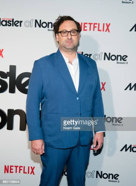 """Actor Eric Wareheim attends """"Master Of None"""" Season 2 premiere at SVA Theatre on May 11, 2017 in New York City."""