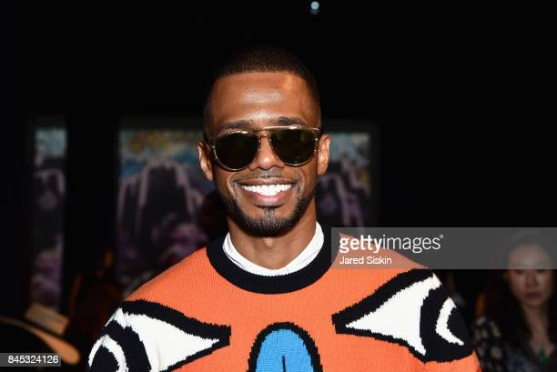 Actor Eric West at the Vivienne Tam SS 2018 Runway Show at Gallery 1 Skylight Clarkson Sq on September 10 2017 in New York City