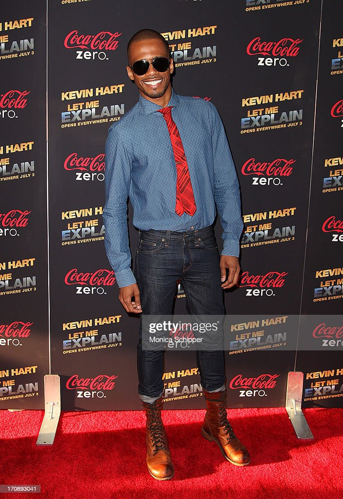 Actor Eric West attends the 'Kevin Hart:Let Me Explain' premiere at Regal Cinemas Union Square on June 19, 2013 in New York City.