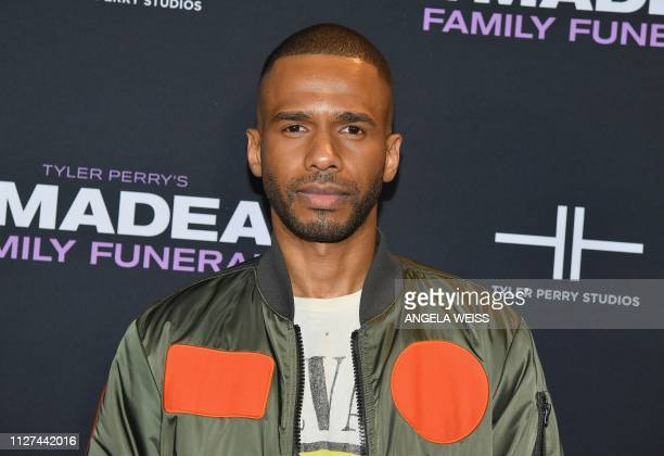 Actor Eric West attends the NY special screening for Tyler Perry's 'A Madea Family Funeral' at SVA Theater on February 25 2019 in New York City