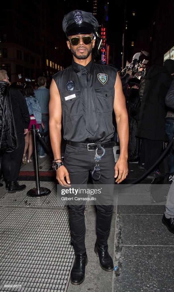 Celebrity Sightings in New York City - October 31, 2017