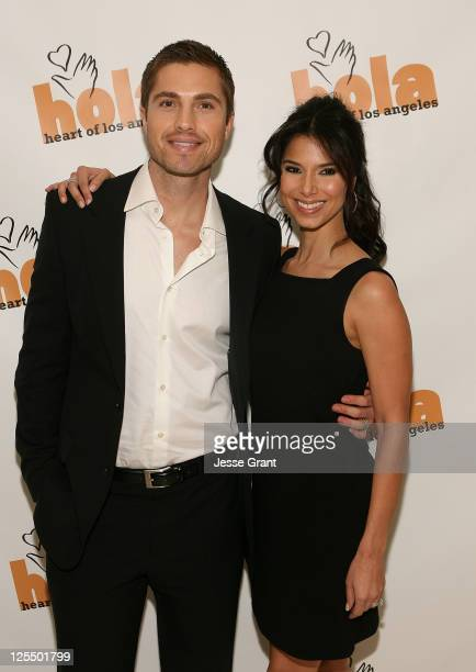 Actor Eric Winter and actress Roselyn Sanchez arrive to the Holiday of the Heart Gala held at Montage Beverly Hills on November 13 2010 in Beverly...