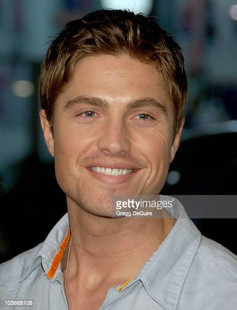 Actor Eric Winter arrives at the 10000 BC premiere at Grauman's Chinese Theatre on March 5 2008 in Hollywood California