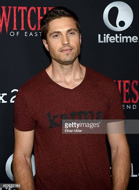 "Actor Eric Winter attends the ""Witches of East End"" season two premiere during Comic-Con International 2014 at The Tipsy Crow on July 24, 2014 in San..."