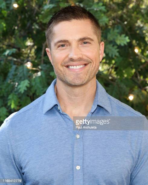 Actor Eric Winter visits Hallmark's Home Family at Universal Studios Hollywood on July 31 2019 in Universal City California
