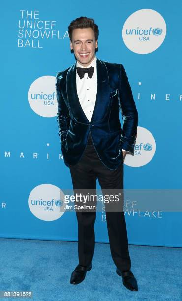 Actor Erich Bergen attends the 13th Annual UNICEF Snowflake Ball 2017 at The Atrium at 60 Wall Street on November 28 2017 in New York City