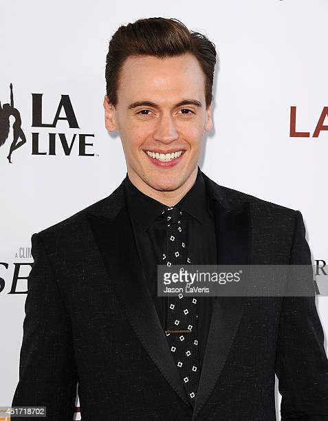 Actor Erich Bergen attends the 2014 Los Angeles Film Festival closing night film premiere of 'Jersey Boys' at Premiere House on June 19 2014 in Los...