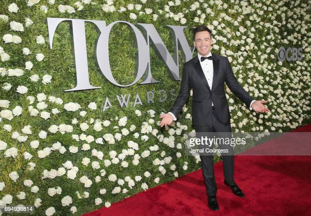 Actor Erich Bergen attends the 2017 Tony Awards at Radio City Music Hall on June 11 2017 in New York City