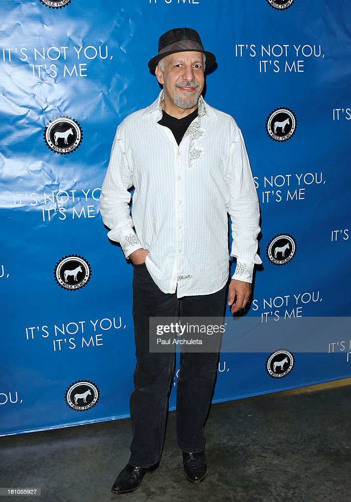 Actor Erick Avari attends the Los Angeles premiere 'It's Not You, It's Me' at the Downtown Independent Theatre on September 18, 2013 in Los Angeles, California.