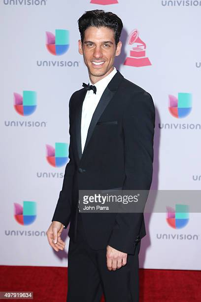 Actor Erick Elias attends the 16th Latin GRAMMY Awards at the MGM Grand Garden Arena on November 19, 2015 in Las Vegas, Nevada.