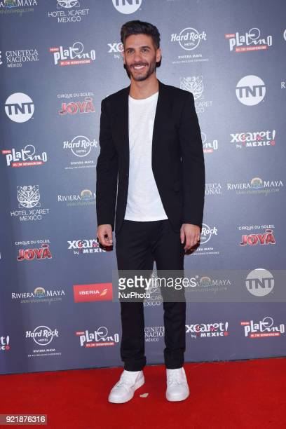 Actor Erick Elias is seen attending at photocall to promote 5th Platinum Awards of Ibero-American Cinema, the event will be held on April 29 in...