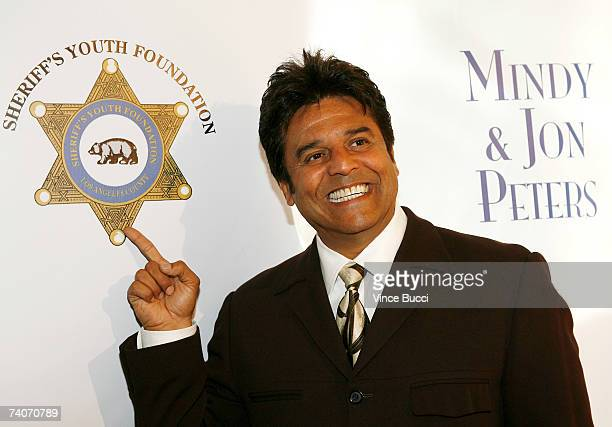 Actor Erick Estrada attends the Los Angeles County Sheriff's Youth Foundation's annual Salute To Youth benefit dinner honoring producers Jon and...