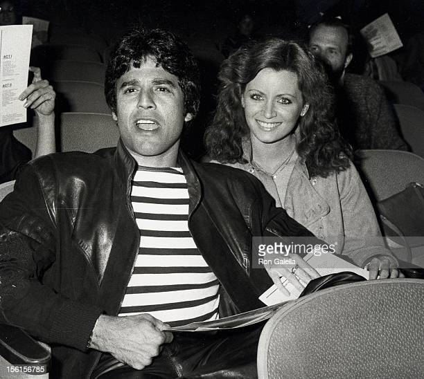Actor Erik Estrada and Barbara Horan attend 'The Night of at Least a Dozen Stars' Benefit on April 27 1981 at the Wilshire Ebell Theater in Beverly...