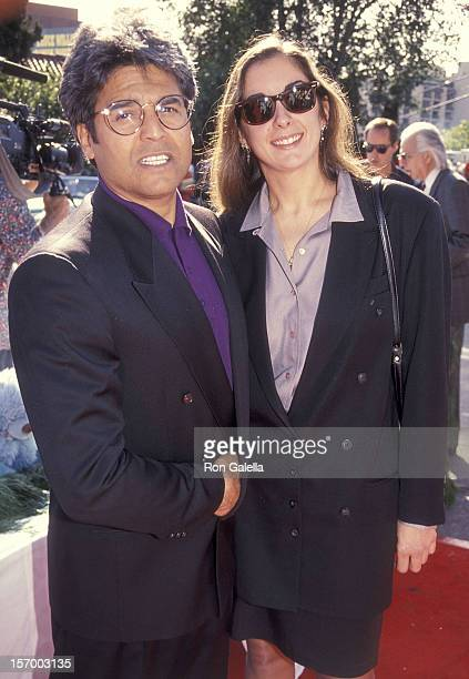 Actor Erik Estrada and girlfriend Nanette Mirkovich attend the Michael Bass' First Annual Holiday Party to Benefit the Toyskis for Totskis Campaign...