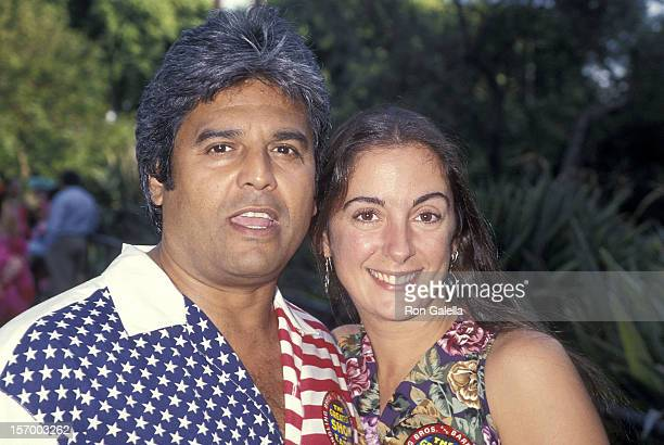 Actor Erik Estrada and girlfriend Nanette Mirkovich attend the The Greatest Show on Earth 124th Edition of the Ringling Bros and Barnum Bailey Circus...
