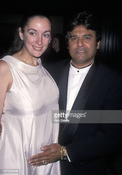 Actor Erik Estrada and wife Nanette Mirkovich attend A Family Celebration One Giant Leap for Humanity Charity Ball to Honor Gladys Knight and the...