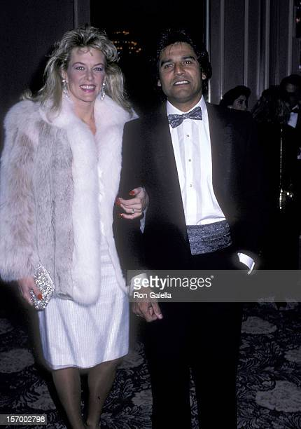Actor Erik Estrada and wife Peggy Rowe attend the Friends of Tel Hashomer's 16th Annual Sheba Humanitarian Award Salute to Menahem Golan and Yoram...