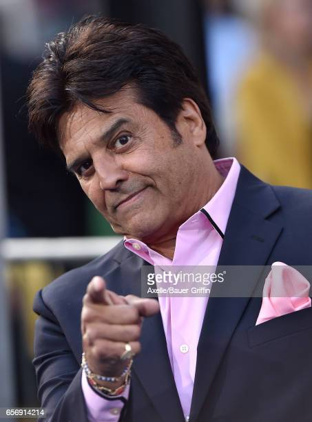 Actor Erik Estrada arrives at the premiere of Warner Bros Pictures' 'CHIPS' at TCL Chinese Theatre on March 20 2017 in Hollywood California