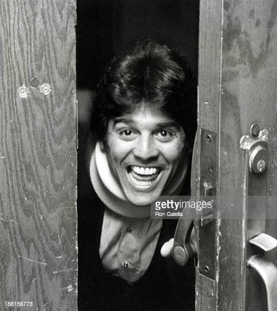Actor Erik Estrada attends Easter Seals Black White Ball Honoring Pat Boone on March 27 1981 at the Regency Hotel in New York City