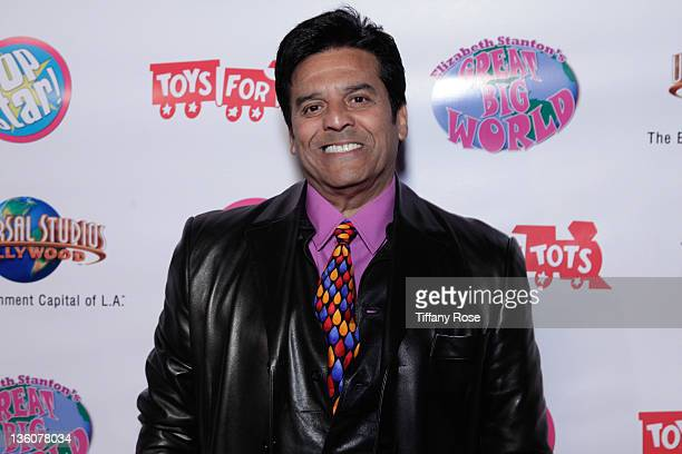 Actor Erik Estrada attends Elizabeth Stanton's Sweet 16 Benefiting Toys for Tots at The Globe Theatre on December 18 2011 in Universal City California