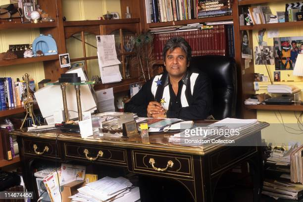 Actor Erik Estrada poses for a portrait in June 19 1996 in Los Angeles California