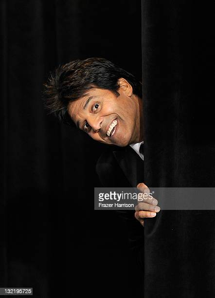 Actor Erik Estrada poses in the press room during the 12th Annual Latin GRAMMY Awards held at the Mandalay Bay Resort Casino on November 10 2011 in...
