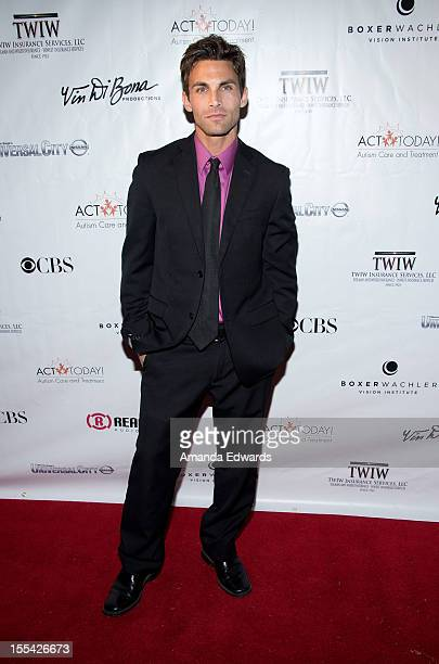 Actor Erik Fellows arrives at the ACT Today's 7th Annual Denim Diamonds For Autism Benefit on November 3 2012 in Malibu California