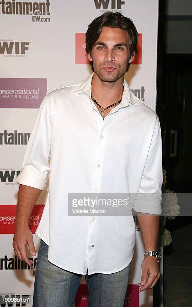 Actor Erik Fellows arrives at the Entertainment Weekly And Women In Film's PreEmmy Party on September 17 2009 in Los Angeles California
