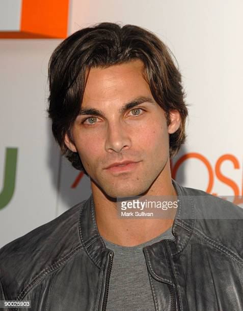 Actor Erik Fellows arrives at the Melrose Place Los Angeles Premiere Party on August 22 2009 in Los Angeles United States