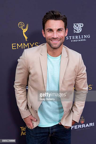 Actor Erik Fellows arrives at the Television Academy's Daytime Television Celebration at Saban Media Center on August 24 2016 in North Hollywood...
