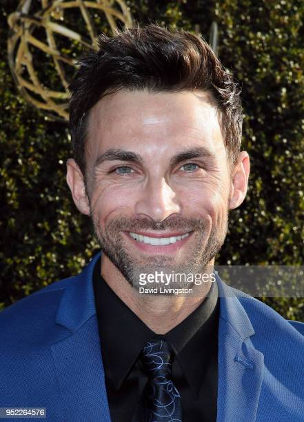 Actor Erik Fellows attends the 45th Annual Daytime Creative Arts Emmy Awards at Pasadena Civic Auditorium on April 27 2018 in Pasadena California