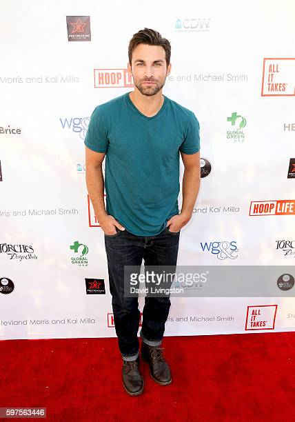 Actor Erik Fellows attends the 4th Annual Kailand Obasi HoopLife Fundraiser at USC Galen Center on August 28 2016 in Los Angeles California