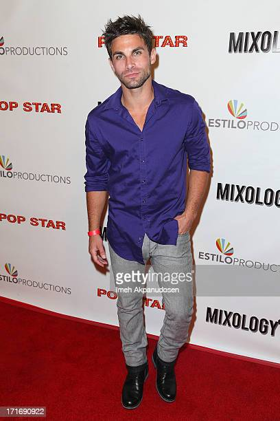 Actor Erik Fellows attends the premiere of 'Pop Star' at Mixology101 Planet Dailies on June 27 2013 in Los Angeles California