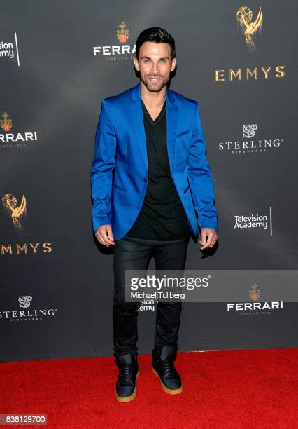 Actor Erik Fellows attends the Television Academy's cocktail reception with stars of daytime television celebrating the 69th Emmy Awards at Saban...