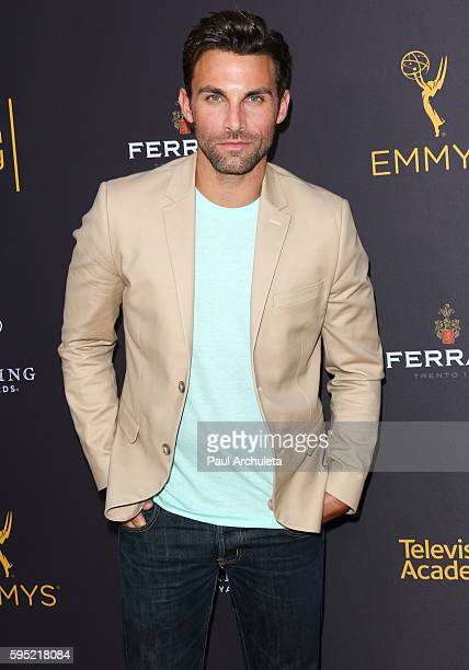 Actor Erik Fellows attends the Television Academy's daytime television celebration at The Saban Media Center on August 24 2016 in North Hollywood...