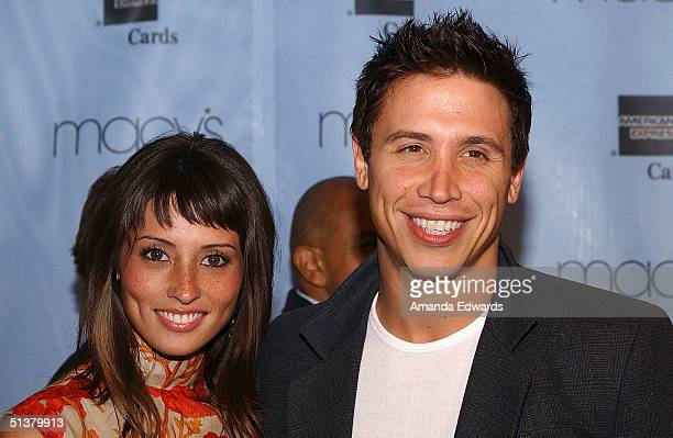 Actor Erik Palladino and fiancee designer Jaime Lee attends the Macy's Passport Gala to Benefit HIV/AIDS Research and Awareness September 30 2004 in...